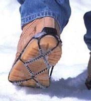 Противоскользящая насадка на обувь