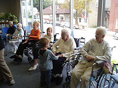 дом престарелых в Америке