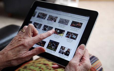 Специализированный планшет для пожилых