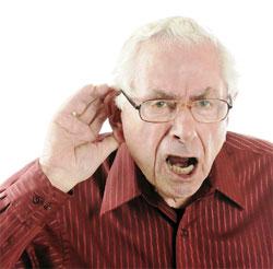 Проблемы со слухом у лиц преклонного возраста