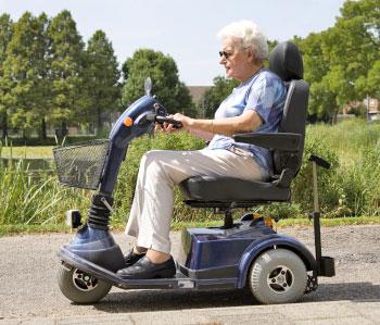Электроскутер для пенсионера