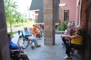 """Частный пансионат для пожилых людей """"Тульский дедушка"""""""