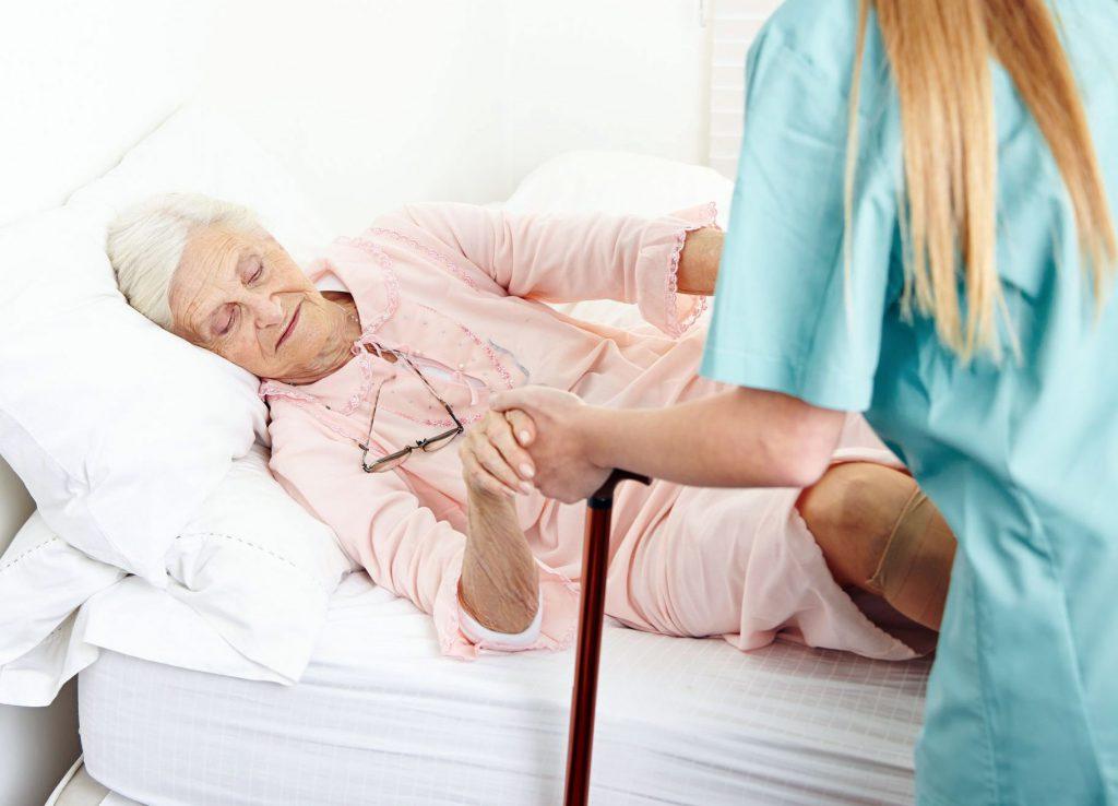Уход за лежачим пациентом