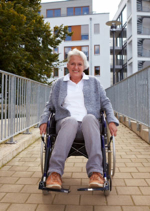 Удобная обстановка для пожилых