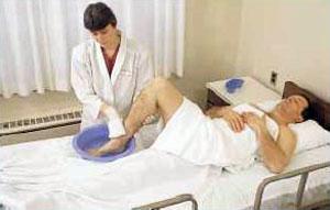 Гигиенические процедуры для лежачих